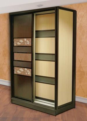 Двухдверный шкаф. Комбинация вставок 4