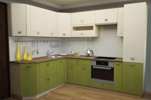 Кухня НК - 2 x 2.7 зеленая